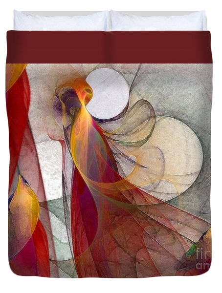 Autumn Duvet Cover by Karin Kuhlmann