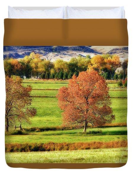 Autumn Landscape Dream Duvet Cover by James BO  Insogna