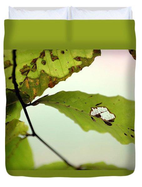 Autumn Leaf 1 Duvet Cover