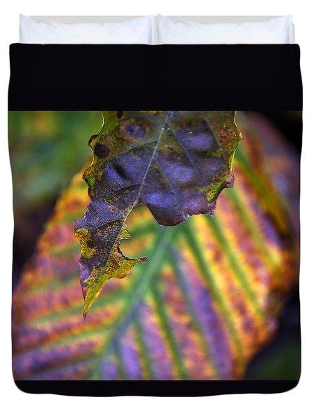 Autumn Leaf 2 Duvet Cover