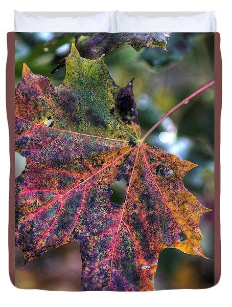 Autumn Leaf 4 Duvet Cover