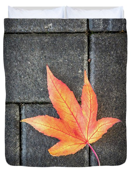 Autumn Leaf Duvet Cover