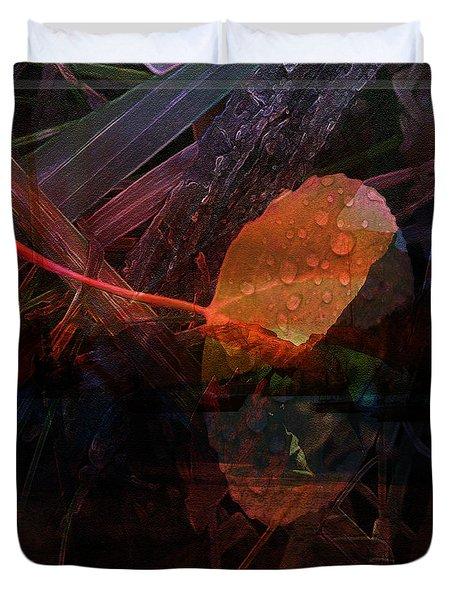 Autumn Leaf Duvet Cover by Stuart Turnbull