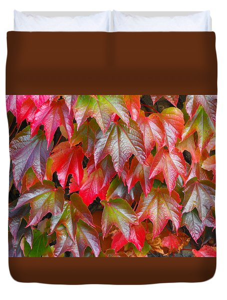 Autumn Leaves 01 Duvet Cover