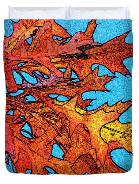 Autumn Leaves 14 Duvet Cover