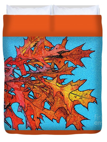 Autumn Leaves 14 Duvet Cover