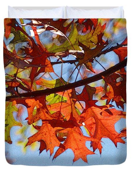 Autumn Leaves 16 Duvet Cover