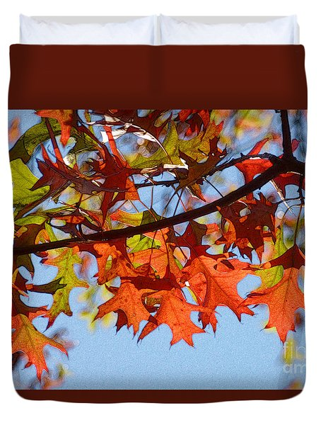 Autumn Leaves 16 Duvet Cover