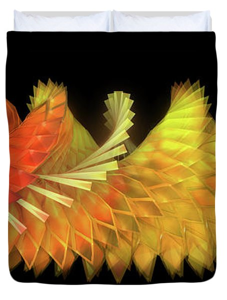 Autumn Leaves - Composition 2.2 Duvet Cover