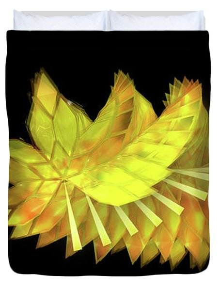 Autumn Leaves - Composition 2.3 Duvet Cover
