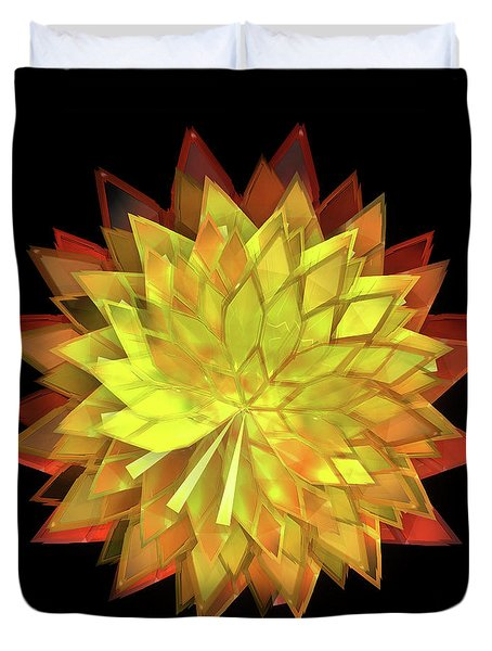 Autumn Leaves - Composition 4 Duvet Cover