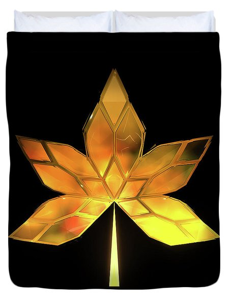 Autumn Leaves - Frame 200 Duvet Cover