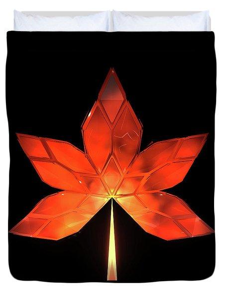 Autumn Leaves - Frame 320 Duvet Cover