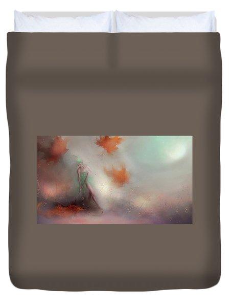 Autumn Leaves Duvet Cover by Joe Gilronan