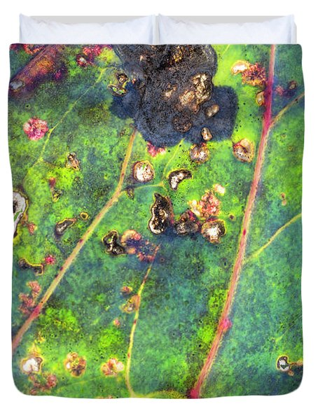 Autumn Magic Colors Duvet Cover
