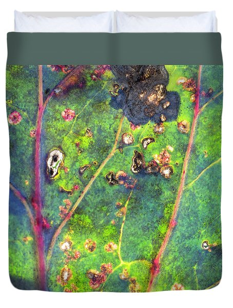 Autumn Magic Colors Duvet Cover