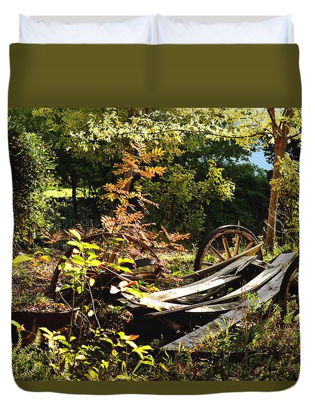 Autumn Memories Duvet Cover by Pamela Patch