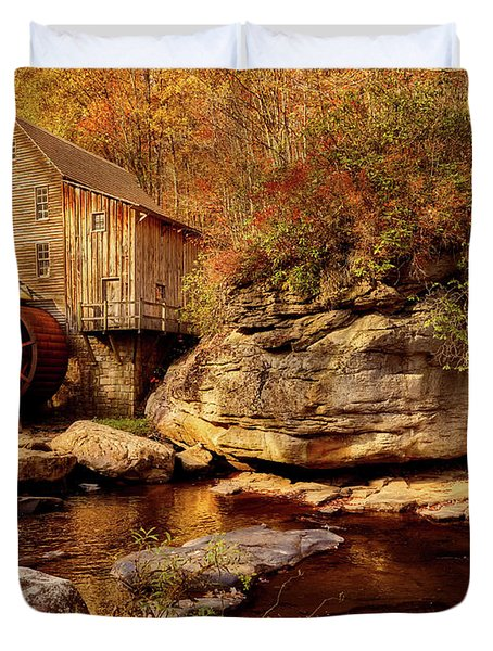 Autumn Mill Duvet Cover by L O C