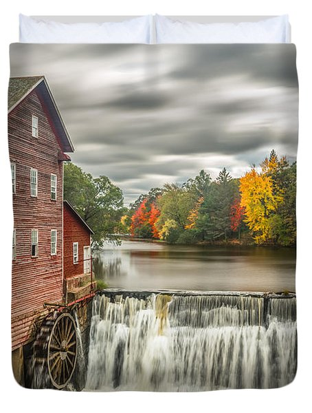 Autumn Mill Duvet Cover by Mark Goodman