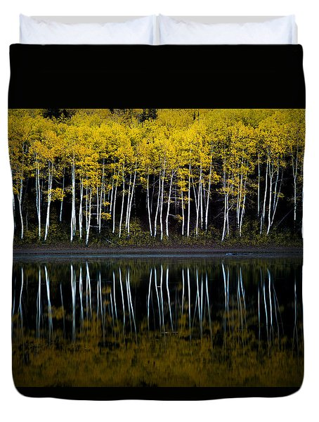 Autumn Mirror Duvet Cover
