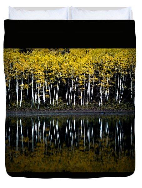 Autumn Mirror Duvet Cover