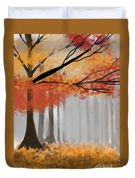 Autumn Mist Duvet Cover