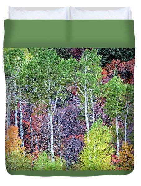 Autumn Mix Duvet Cover