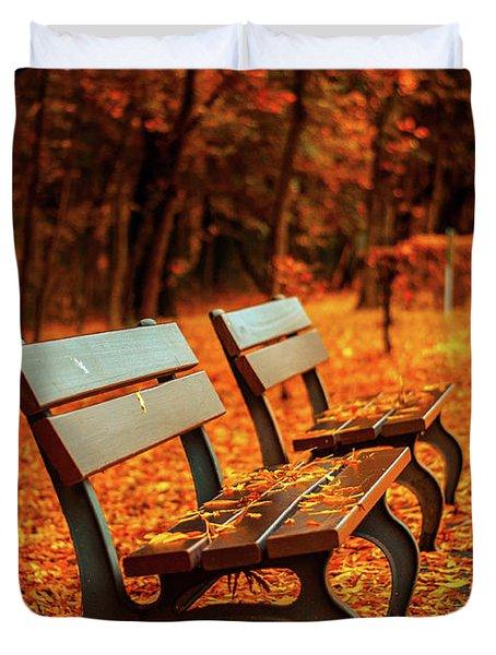 Autumn Moments Duvet Cover