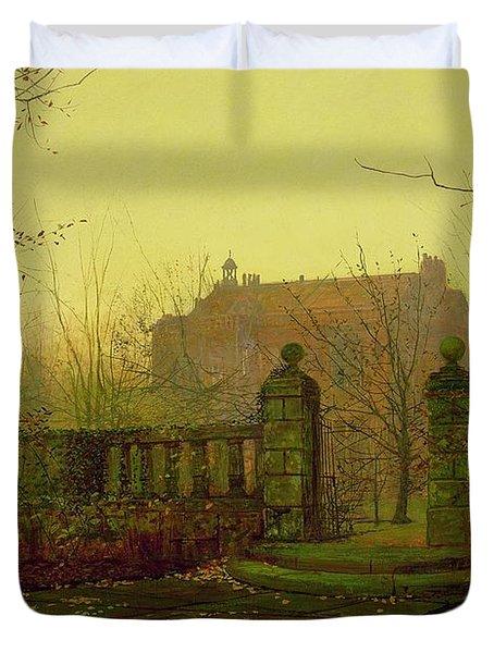 Autumn Morning Duvet Cover