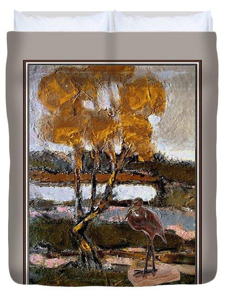 Autumn Motive 6 Duvet Cover