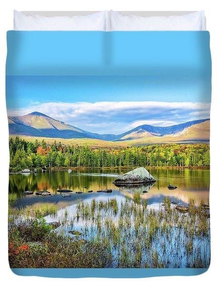 Autumn Mt.katahdin Baxter Sp Maine Duvet Cover