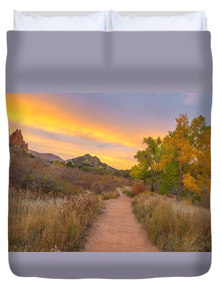 Autumn Mystique Duvet Cover