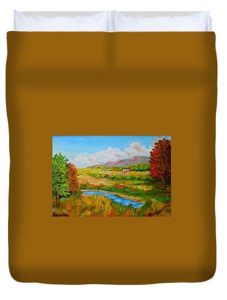 Autumn Nature Duvet Cover
