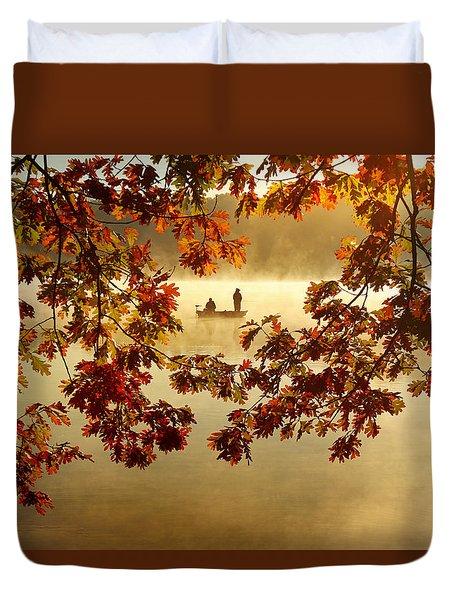Autumn Nostalgia Duvet Cover
