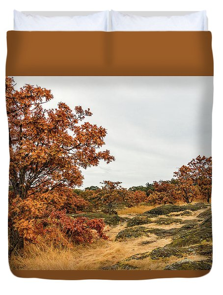 Autumn Oaks 3 Duvet Cover