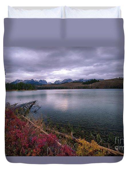 Autumn On Little Redfish Duvet Cover