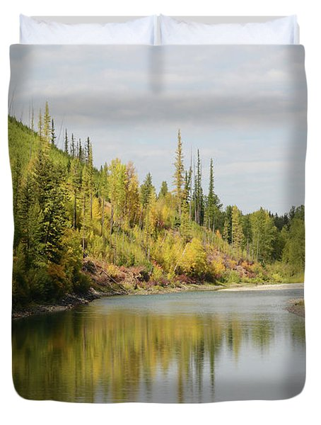 Autumn On The North Fork Duvet Cover