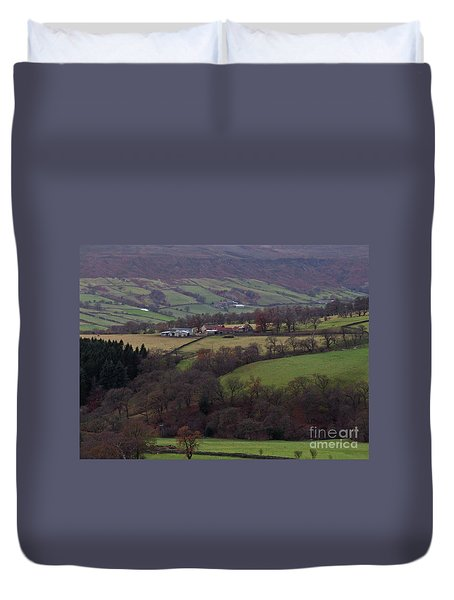Autumn On The North York Moors Duvet Cover