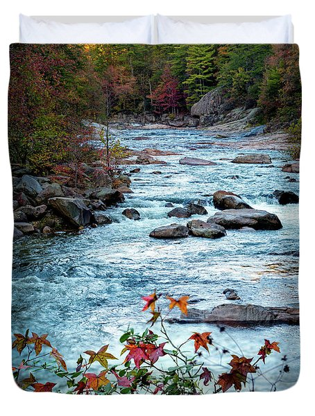 Autumn On Wilson Creek Duvet Cover