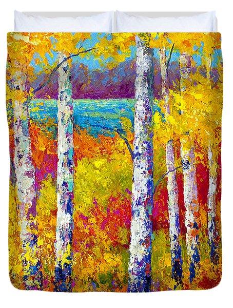 Autumn Patchwork Duvet Cover