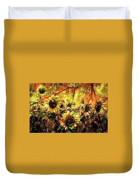Autumn Duvet Cover by Paul Drewry