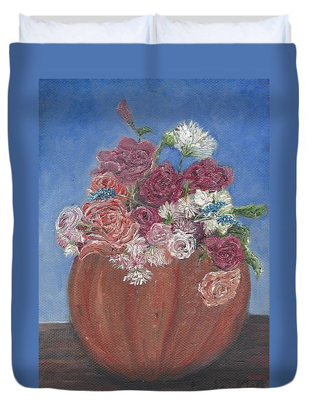 Autumn Petals Duvet Cover