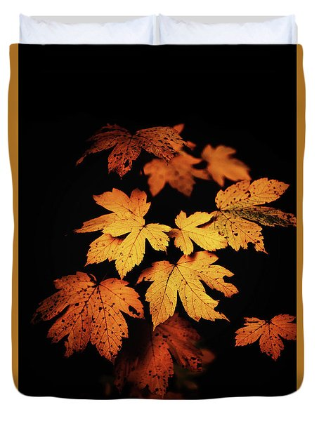 Autumn Photo Duvet Cover