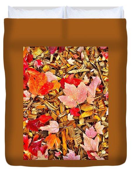 Autumn Potpourri Duvet Cover