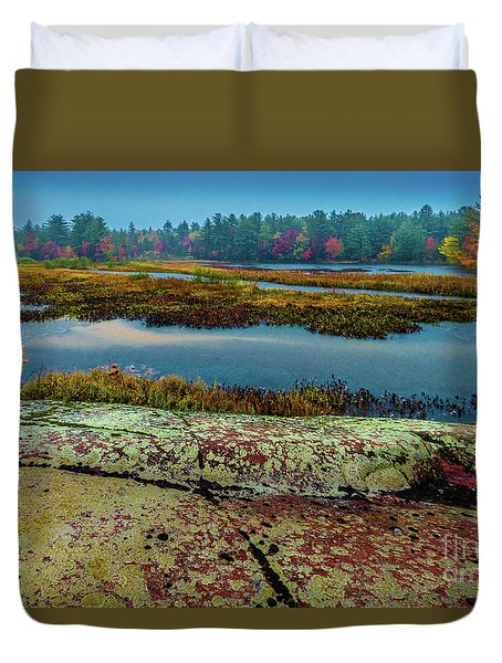 Autumn Rain 2 Duvet Cover
