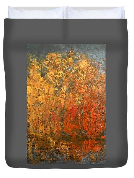 Autumn Reflections 1 Duvet Cover