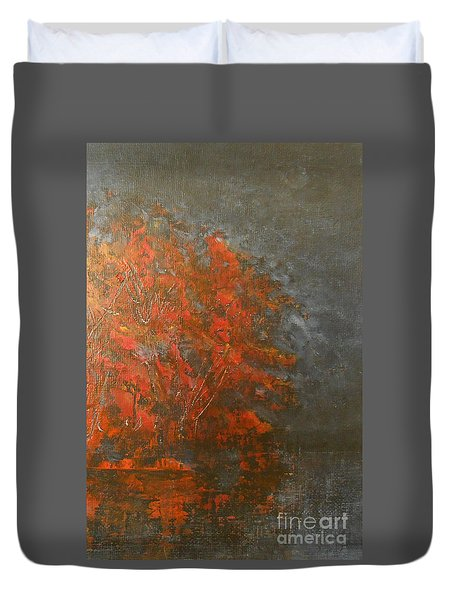 Autumn Reflections 2 Duvet Cover