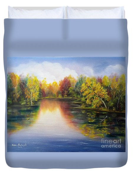 Autumn Reflections 2 Duvet Cover
