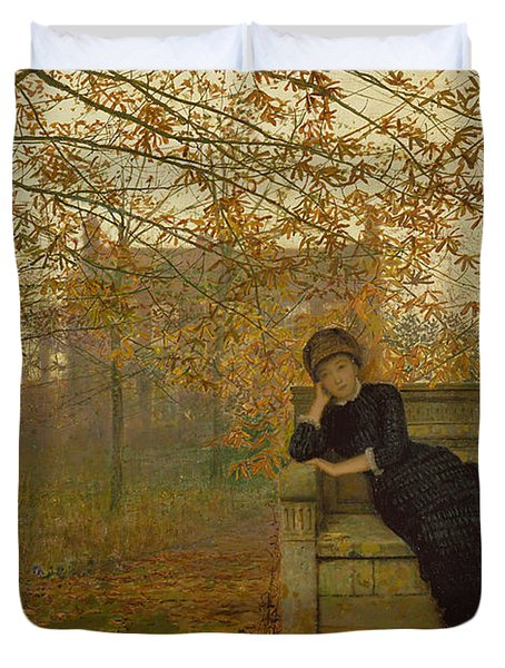 Autumn Regrets Duvet Cover