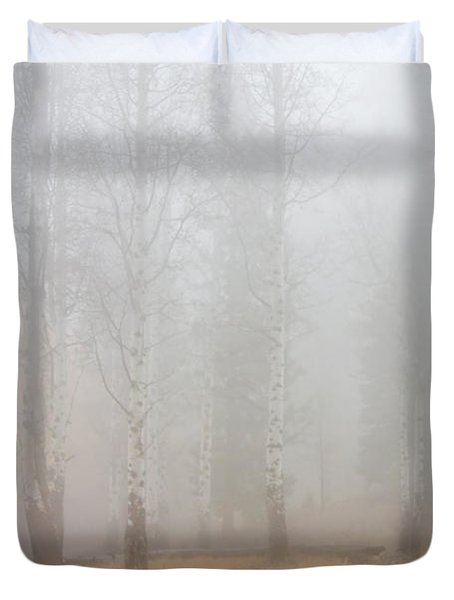 Autumn Reveals Duvet Cover by Mike  Dawson